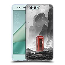 Official Daniel Conway Phonebooth Surreal Scenery Soft Gel Case for Zenfone 4 ZE554KL