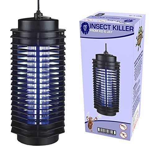 Electronic UV Insect Fly Pest Mosquito Killer Electric Zapper 6W Mains Powered KD & JAY