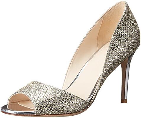 Cole Haan Women S Antonia Ot Dress Pump Gold Silver Glitter 9 5