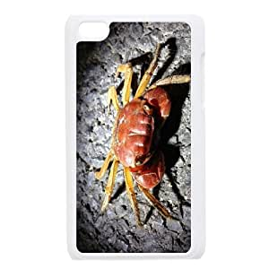 SYSD Ipod Touch 4 Phone Case Crab,Customized Case KJ779162