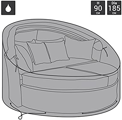 Charles Bentley - Funda para sofá cama - Para jardín - Poliéster impermeable: Amazon.es: Jardín