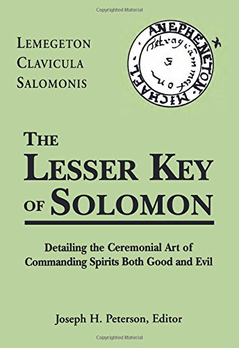 The Lesser Key of Solomon by Weiser Books