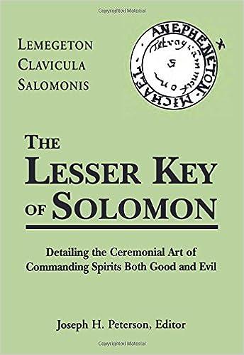 The Lesser Key Of Solomon Pdf