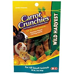 United Pet Group G1472 Carrot Crunchies Pet Treat, 2-Ounce