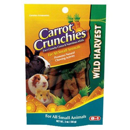 United Pet Group G1472 Carrot Crunchies Pet Treat, - Crunchy Wild