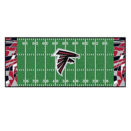 Falcons NFL-Atlanta Falconsfootball Field Runner, Team Color, One Size ()