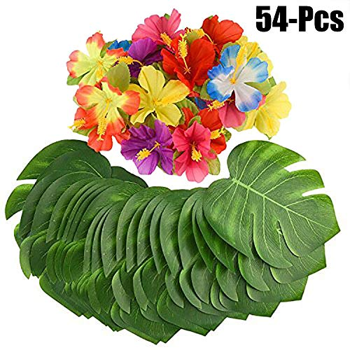 - Artificial Plants - 24pcs Artificial Flowers Decorative Party Decor With Fake Leaf - Elephant Topiary Privacy Large Desktop Pack Modern Cabinets Under Stems Pots Reptiles National Sale Mar