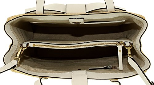 UPC 098689923208, Kate Spade Clement Street Straw Brigette Tote Bag in Natural/Fresh White