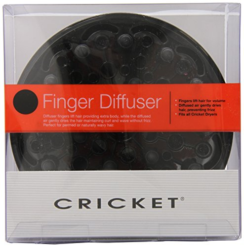 Cricket Professinal Finger Hair Dryer Diffuser, 6.72 Ounce