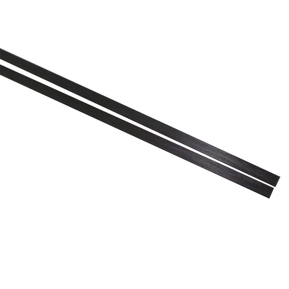 Carbon Fiber Strip .070'' x .437'' x 4' by CSTsales.com