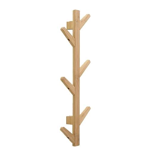 TOYANDONA Perchero de diseño de Rama de árbol de Madera de ...