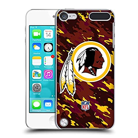 Official NFL Camou Washington Redskins Logo Hard Back Case for iPod Touch 5th Gen / 6th Gen - Ipod Redskin