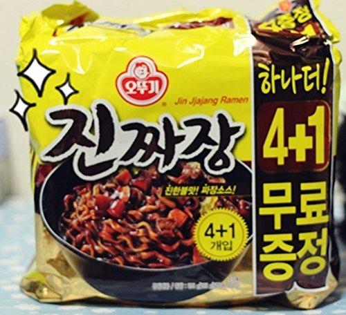 korea-food-ottogi-jin-jjajang-ramen-4-1ea-spicy-taste-delicious-noodles-easy-meals-party-food