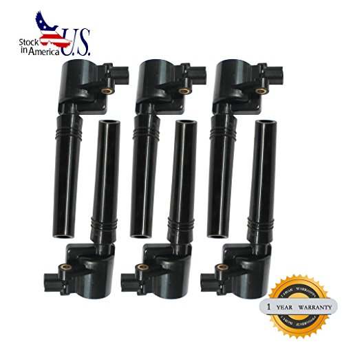 VioGi 6pcs Brand New Ignition Coil For Ford Escape Five Hundred Freestyle Taurus/ Mazda Tribute/ Mercury Mariner Montego Sable (8th Vin Digit S Only) 3.0L V6