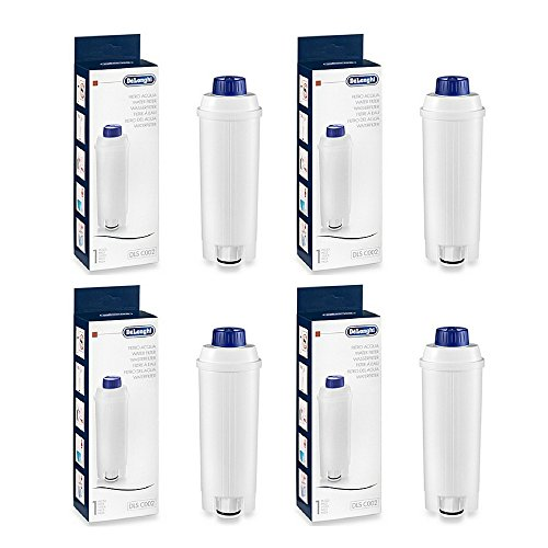 DeLonghi 5513292811 Water Filter - (4 Pack) by DeLonghi