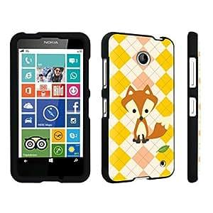 DuroCase ? Nokia Lumia 630 Hard Case Black - (Cute Fox)