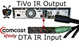 TiVo IR to Cable/DTA Box Direct Connect Control Cable