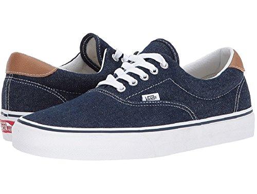 Vans Era 59 (demin C & L) Moda Sneakers Vestito Blues / Chipmunk Taglia 5,5 Uomini / 7 Donne