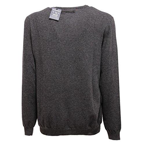 Maglione Sweater Grigio 1169v Lana Wool Grey Men Woolrich Uomo V neck 8aadwf