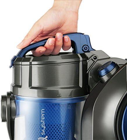 Taurus 948959000 Aspirateur sans Sac Exeo Plastique Bleu/Gris 800 W