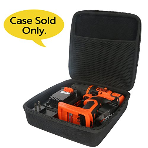 hard-travel-case-for-blackdecker-ldx120c-20-volt-max-lithium-ion-cordless-drill-driver-by-co2crea-size-2