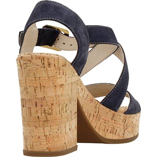 Sandalias y chanclas para mujer, color Azul , marca STONEFLY, modelo Sandalias Y Chanclas Para Mujer STONEFLY CAROL 4 VELOUR Azul Azul