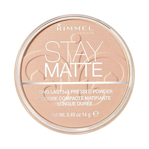 (3 Pack) RIMMEL LONDON Stay Matte Long Lasting Pressed Powder - Natural