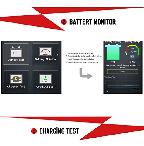 AUTOOL BT-BOX Bluetooth Car Diagnostic Battery System Tester Analyzer BTBOX Wireless Auto Battery Testers For IOS/Android System Support12V Vehicles by AUTOOL (Image #7)