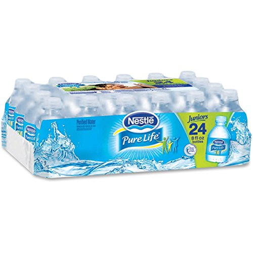 (Nestle Water Nestle Pure Life, 8 Fl Oz, Pack of 24)