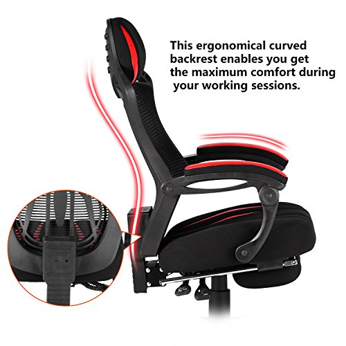 Merax Spider Man Series Mesh Office Chair Desk Swivel