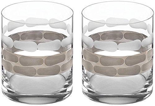 (Michael Wainwright Truro Platinum Double Old Fashioned, Set Of 2)