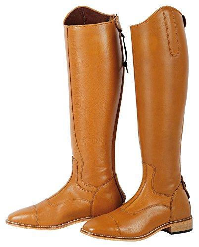 Stivali da equitazione donne Elite Cognac largo Harry, marrone, 42, 30000101