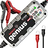 NOCO Genius G7200 12V/24V 7.2-Amp Smart Battery Charger and Maintainer