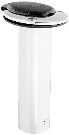 Attwood 66364-7 Stainless Steel Flush Mount 0 Degree Rod Holder 2-Inch