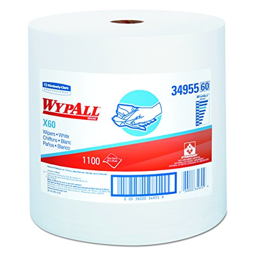 Wypall 34955 X60 Wipers on Jumbo Roll,  12.5