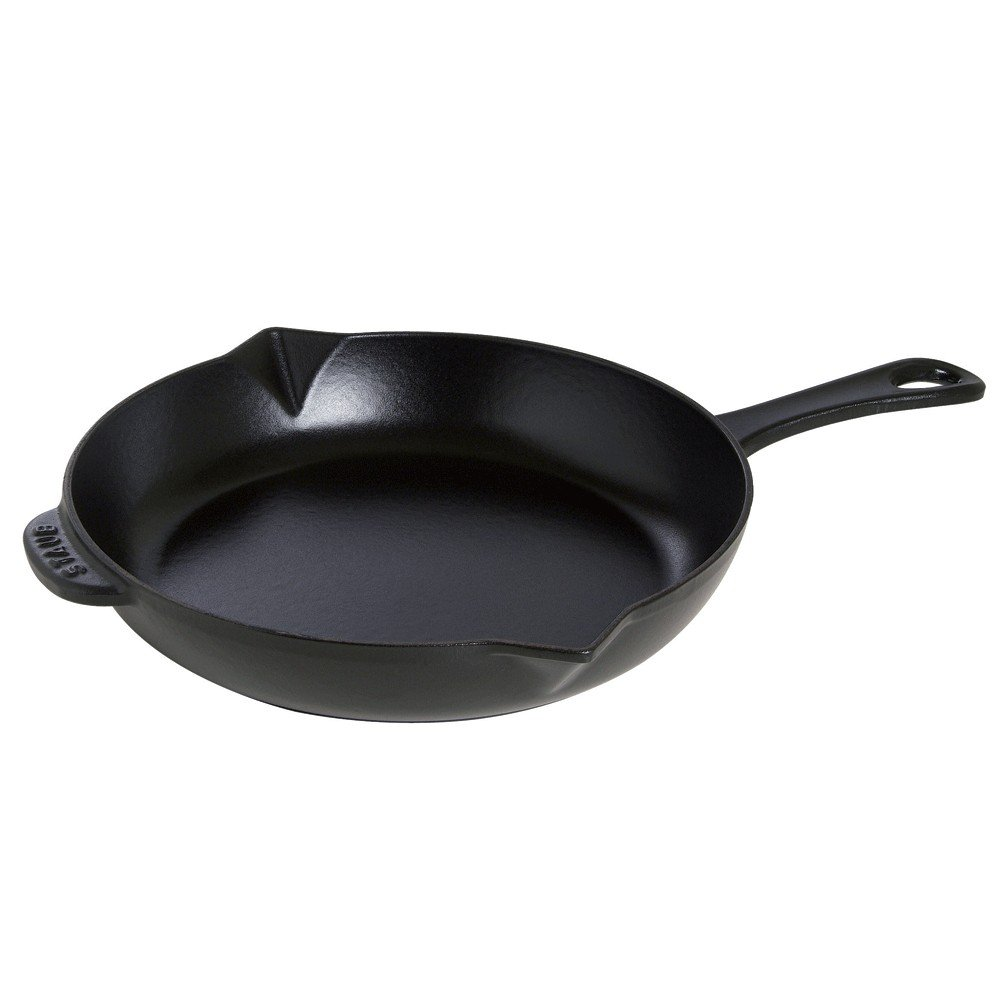 "Staub Cast Iron 10"" Fry Pan - Matte Black"