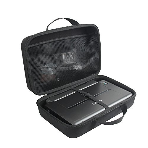Anleo Hard Travel Case for fits Canon PIXMA iP110 Wireless Mobile Printer with Battery by Anleo