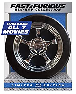 Fast & Furious 1-7 Collection – Limited Edition (Blu-ray + DIGITAL HD with UltraViolet)