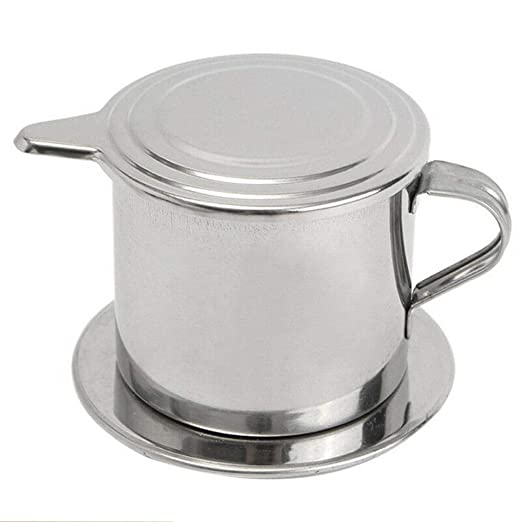 LIWEISDSDFS - Filtro de café Vietnam portátil de acero inoxidable ...