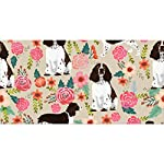 "NiYoung Beach Towels for Travel English Springer Spaniel Beach Towel Prints for Beach, Travel, Cruise, Outdoor, Thick Beach Towels, 28""x56"" 7"