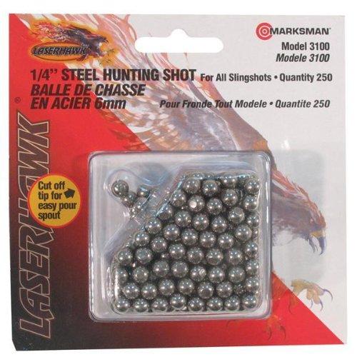 Marksman Ammunition Steel Shot 1/4 In. /