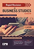 Rapid Revision in Business Studies for Class 12 (2019 Exam)