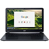 Acer Chromebook 15 Intel Celeron 1.6 GHz 4 GB Ram 32GB Flash Chrome OS (Certified Refurbished)