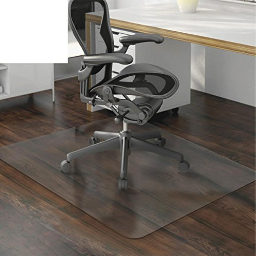 Transparent Mat - PVC Transparent Mat/Computer Chair Mat/Swivel Chair Protector/Floor Mats/Wood Floor Protector/ Carpet/Transparent Mat-A 40x60cm(16x24inch)