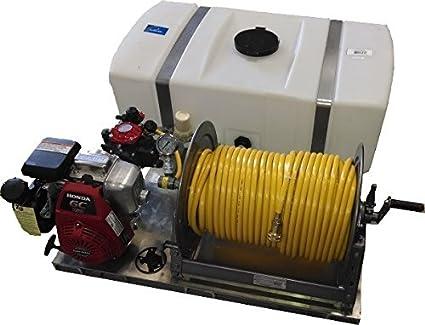 Amazon com : 50 Gallon Skid Sprayer- Diaphragm Pump : Garden & Outdoor