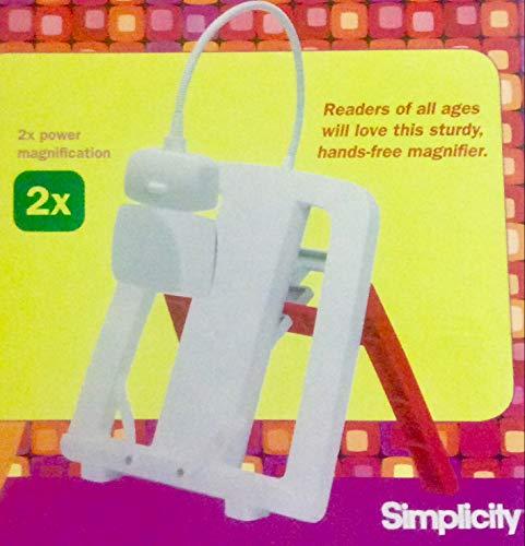 - Simplicity Creative Group, Inc C.C. Bigger 55501024 Book Stand Magnifier
