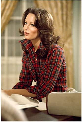 Jaclyn Smith In Plaid Top Charlie S Angels 8 X 10 Inch Photo At Amazon Entertainment Collectibles Store