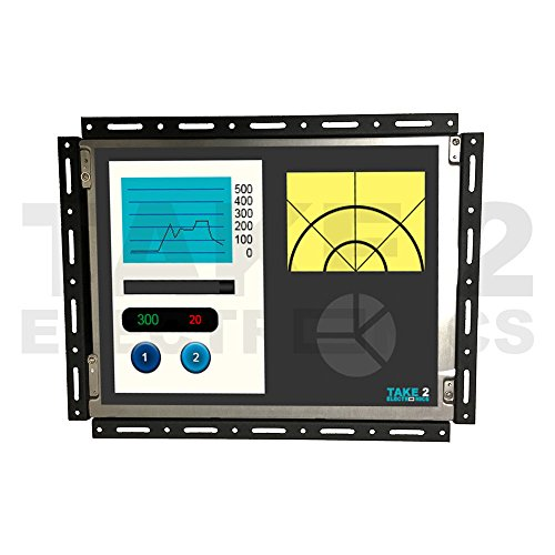 GREAT FOR THE PRICE FANUC A61L - 0001 - 0074 REPLACEMENT LCD by Fanuc