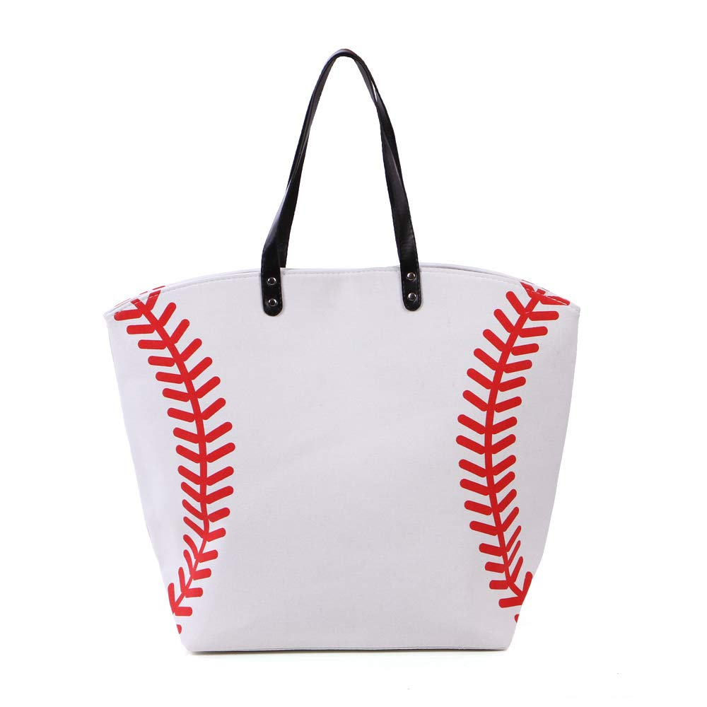 fc327c2b3677 Amazon.com : Large Sports Tote (Baseball) : Sports & Outdoors