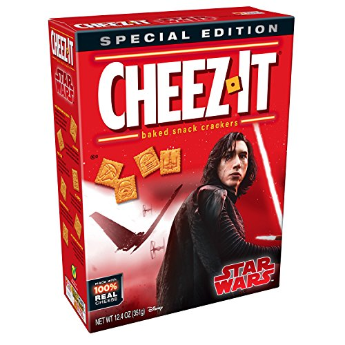 Cheez-It, Baked Snack Cheese Crackers, Star Wars, Special Edition, 12.4 oz